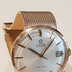 Relojes - Omega: RELOJ OMEGA ORO ROSA 18K AUTOMATICO CALENDARIO AÑOS 60. Lote 260683070