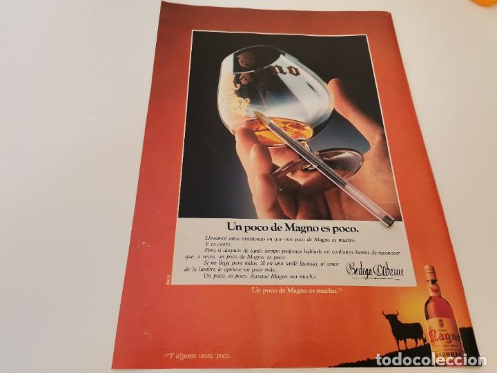 Relojes - Omega: RELOJ OMEGA SEAMASTER TITANE REVERSO BRANDY MAGNO OSBORNE ANUNCIO PUBLICIDAD REVISTA 1984 - Foto 2 - 263045450