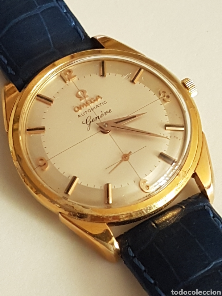 Relojes - Omega: RELOJ OMEGA PIE PAN 1958 CAL 491 AUTOMATICO REVISADO - Foto 16 - 263301905
