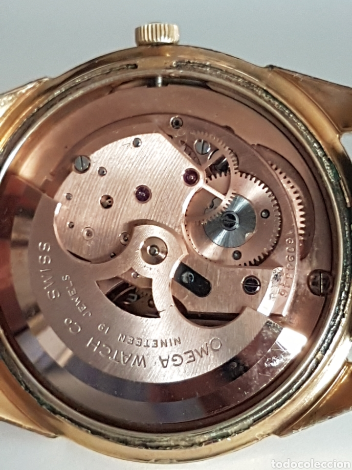 Relojes - Omega: RELOJ OMEGA PIE PAN 1958 CAL 491 AUTOMATICO REVISADO - Foto 22 - 263301905