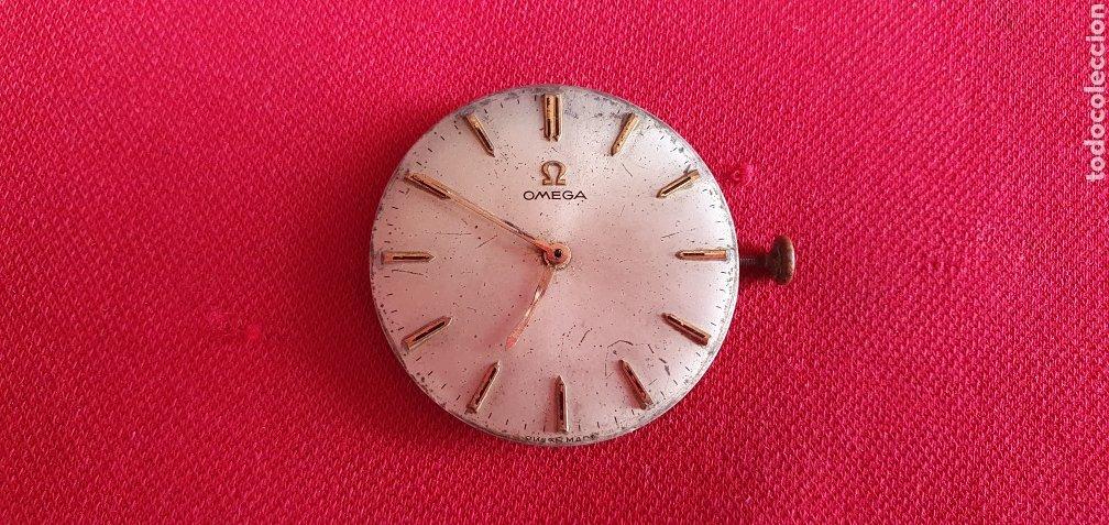 MAQUINARIA OMEGA FUNCIONA BIEN.MIDE 29.5 MM DIAMETRO (Relojes - Relojes Actuales - Omega)