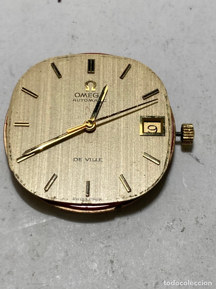 MAQUINARIA AUTOMÁTICA DE LA MARCA OMEGA DE VILLE CALIBRE 1002 EN FUNCIONAMIENTO (Relojes - Relojes Actuales - Omega)