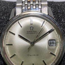 Relojes - Omega: OMEGA. ACERO. GENÈVE SEAMASTER. AUTOMÁTICO. CALENDARIO. ARMIS ORIGINAL EN ACERO. Lote 269712118