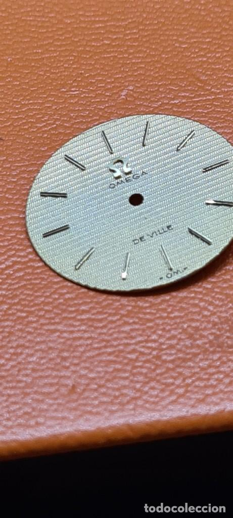 Relojes - Omega: Esfera para reloj de señora OMEGA de Ville de oro 18. kilates o 0750, esfera en muy buen estado oro. - Foto 4 - 281819843