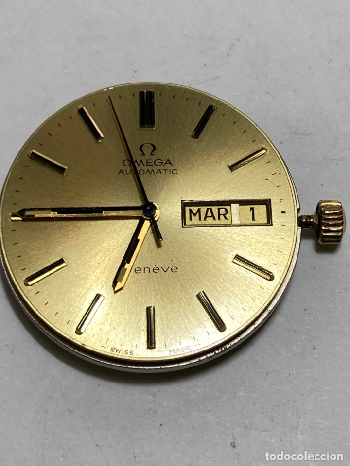 MAQUINARIA OMEGA AUTOMÁTICA GENEVE 1022 COMO NUEVA EN FUNCIONAMIENTO (Relojes - Relojes Actuales - Omega)