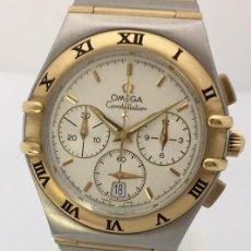Relojes - Omega: OMEGA CONSTELLATION CRONO ORO 18KT.-ACERO EDIC.ESPECIAL.NUEVO.. Lote 286901943