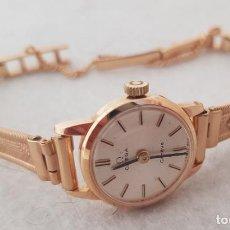 Relógios - Omega: OMEGA DE DAMA MECANICO CHAPDO EN ORO FUNCIONANDO 20MM. Lote 287247688