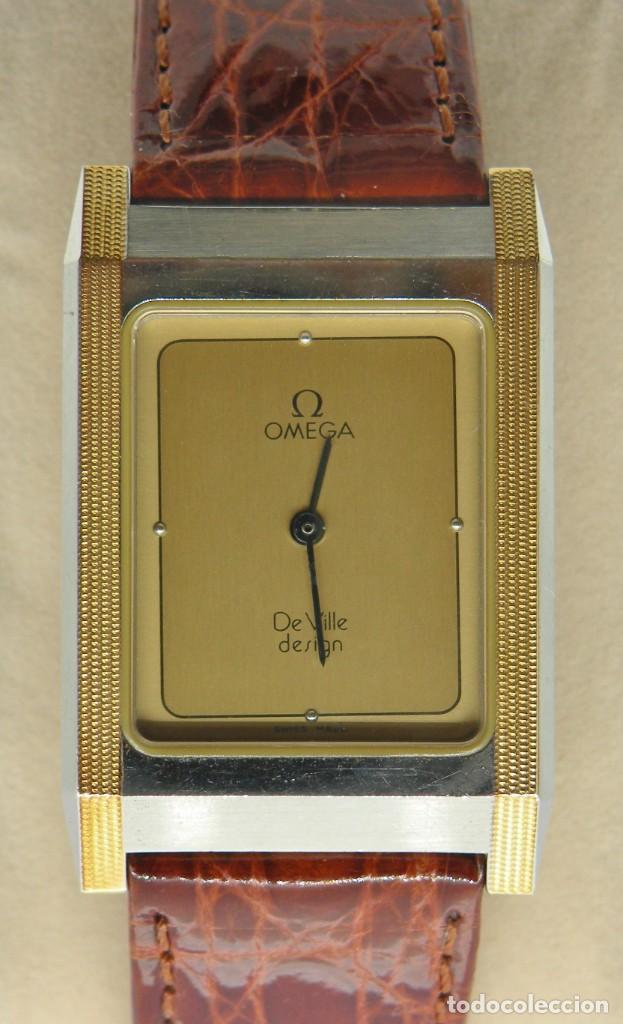 RELOJ OMEGA CAJA DE ACERO Y ORO. UNISEX CASI NUEVO. ORIGINAL (Relojes - Relojes Actuales - Omega)