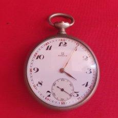 Relojes - Omega: RELOJ OMEGA DE BOLSILLO NO FUNCIONA Y LE FALTA LA CORONA .MIDE 48.5 MM DIAMETRO. Lote 288354313