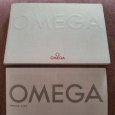 Relojes - Omega: CATÁLOGO + LISTA PRECIOS OMEGA UK 2012. Lote 290283333