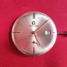 Relojes - Omega: MAQUINARIA DEL RELOJ OMEGA CATENA FUNCIONA .MIDE 30.3 MM DIAMETRO. Lote 295466783