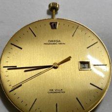 Relojes - Omega: MARINARÍA OMEGA MEGASONIC 720HZ DE VILLE CHRONOMETRE FUNCIONA. Lote 295492418