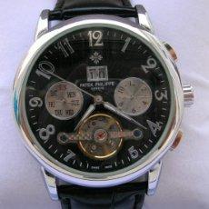 Relógios - Patek: ELEGANTE PATEK PHILIPPE TOURBILLON. ESFERA NEGRA. Lote 5064566