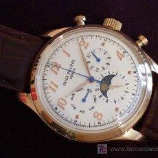 Relógios - Patek: ELEGANTE PATEK PHILIPPE, EXTRAORDINARIA BELLEZA. CHAPADO EN ORO 18 KT.. Lote 5706496