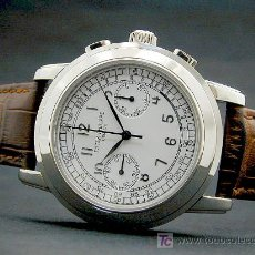 Relógios - Patek: PATEK PHILIPPE CLASSIC VINTAGE CHRONOGRAPH, LEMANIA MANUAL WORKING CHRONOGRAPH MOVEMENT . Lote 6878335