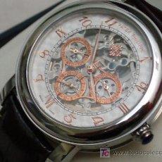 Relógios - Patek: ELEGANTE PATEK PHILIPPE SKELETOR (REPLICA). Lote 6731739