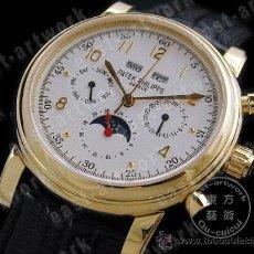 Relógios - Patek: PATEK PHILIPPE - PATEK PERTPETUAL CALENDAR 18K GOLD. ETA 2836-2. Lote 8052468