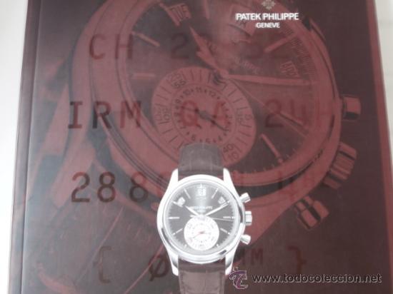 CATÁLOGO DE PATEK PHILIPPE. (Relojes - Relojes Actuales - Patek)