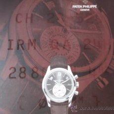 Relojes - Patek: CATÁLOGO DE PATEK PHILIPPE.. Lote 35614090