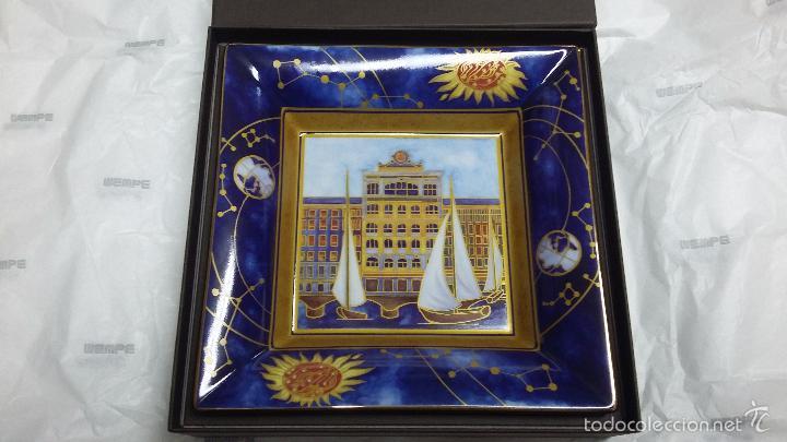 BANDEJA O VACIA BOLSILLO PATEK PHILIPPE -GENEVE - 2014 ANIVERSARIO PORCELANA LIMOGES (Relojes - Relojes Actuales - Patek)