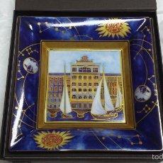 Relojes - Patek: BANDEJA O VACIA BOLSILLO PATEK PHILIPPE -GENEVE - 2014 ANIVERSARIO PORCELANA LIMOGES. Lote 56183175
