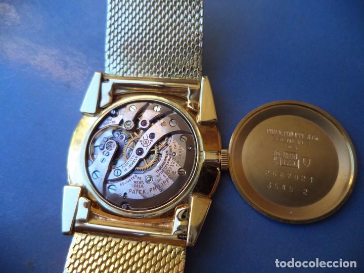 Relojes - Patek: PATEK PHILIPPE, Reloj de oro macizo de 18 Kilates, peso 102,7 gramos. - Foto 6 - 77312389