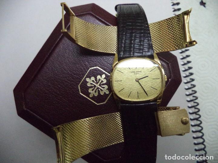 Relojes - Patek: PATEK PHILIPPE, Reloj de oro macizo de 18 Kilates, peso 102,7 gramos. - Foto 7 - 77312389