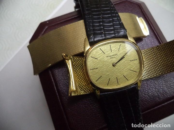 Relojes - Patek: PATEK PHILIPPE, Reloj de oro macizo de 18 Kilates, peso 102,7 gramos. - Foto 8 - 77312389
