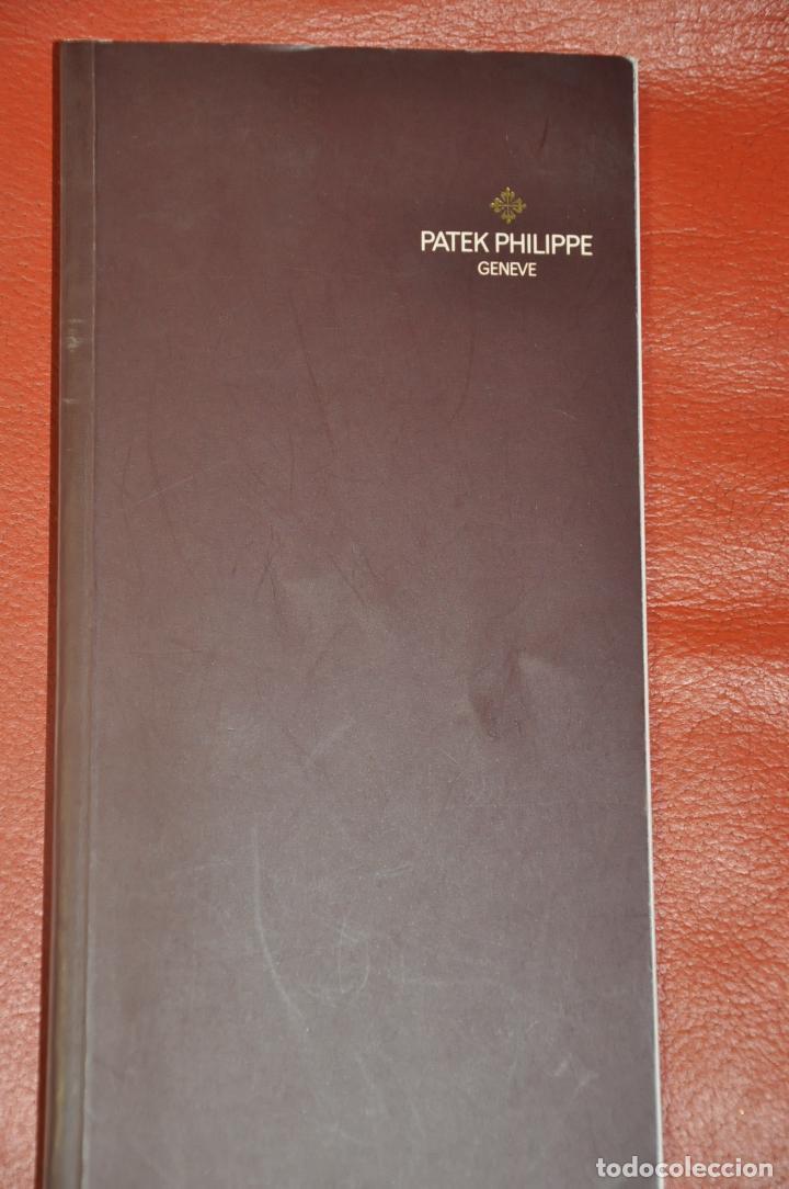 CATALOGO DE RELOJES PATEK PHILIPPE , AÑO 2001 (Relojes - Relojes Actuales - Patek)