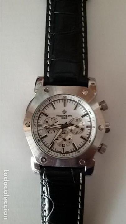RELOJ PULSERA CUERO PATEK PHILIPPE GENEVE (Relojes - Relojes Actuales - Patek)