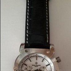 Relojes - Patek: RELOJ PULSERA CUERO PATEK PHILIPPE GENEVE. Lote 115242043