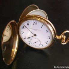 Relojes - Patek: PATEK PHILIPPE GENEVE ORO GOLD 18 KT. RELOJ BOLSILLO POCKET WATCH TASCHENUHR.. Lote 138165722