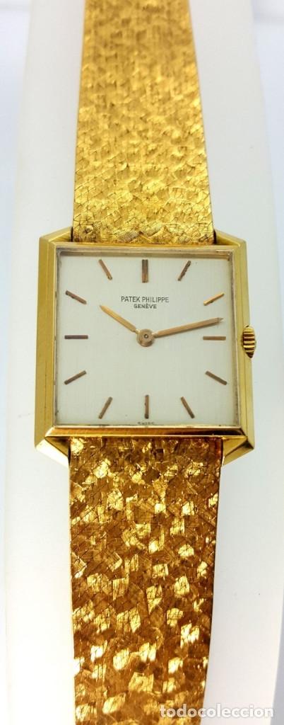 Relojes - Patek: PATEK PHILIPP MOD.CALATRAVA-ORO 18K-COMO NUEVO. - Foto 3 - 68527449