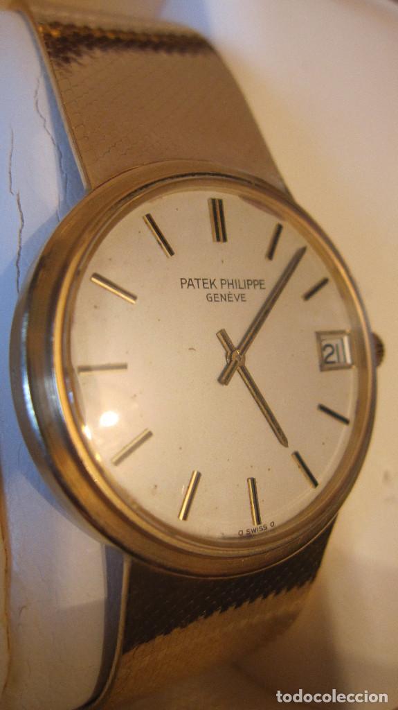 Relojes - Patek: MAXIMA EXPRESION DE LA RELOJERIA CON ESTE PATEK PHILIPPE AUTOMATICO DE CABALLERO TODO 18K. - Foto 4 - 201829670
