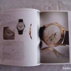 Relojes - Patek: CATALOGO RELOJ PATEK PHILIPPE 2009/2010. Lote 162340658