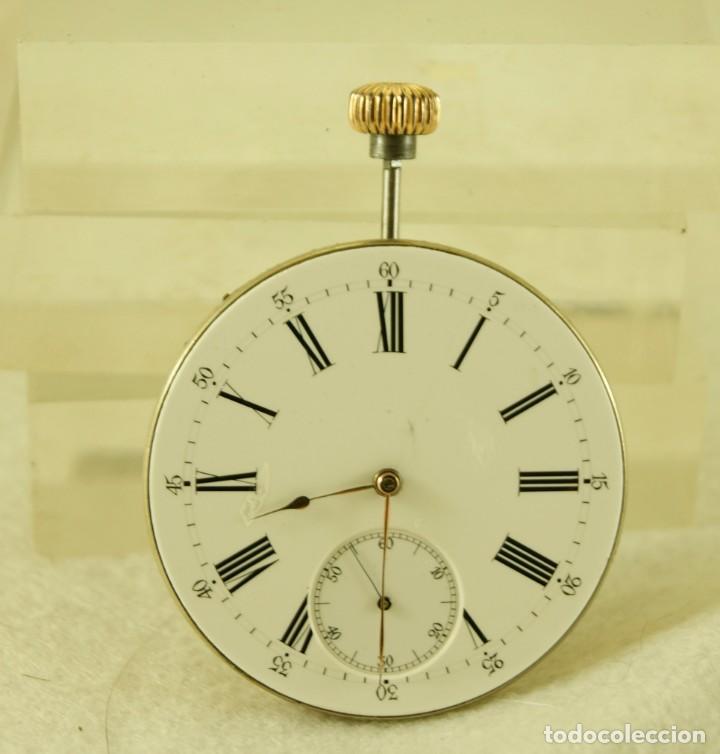 Relojes - Patek: MAQUINA RELOJ BOLSILLO SIN FIRMAR CON ESFERA - Foto 3 - 183737322