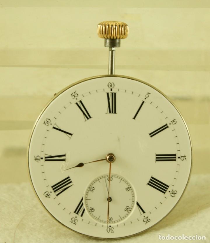 Relojes - Patek: MAQUINA RELOJ BOLSILLO SIN FIRMAR CON ESFERA - Foto 5 - 183737322
