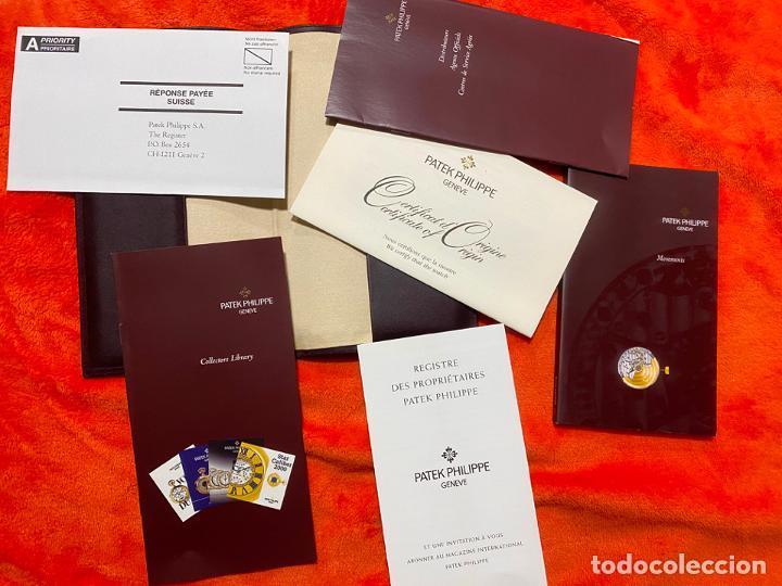 PATEK PHILIPPE , PORTA DOCUMENTOS , PAPELES Y GARANTIA ORIGINALES DE RELOJ (Relojes - Relojes Actuales - Patek)