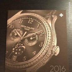 Relojes - Patek: CATALOGO PATEK PHILIPPE 2016 COLECCION - RELOJ RELOJES LIBRO EN ESPAÑOL - NO ROLEX LONGINE OMEGA IWC. Lote 192193665