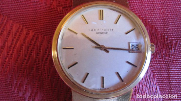 Relojes - Patek: PATEK PHILIPPE AUTOMATICO DE CABALLERO TODO 18K. ESTUCHE. FUNCIONANDO - Foto 15 - 226769555