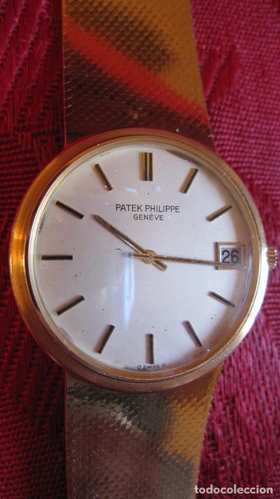 Relojes - Patek: PATEK PHILIPPE AUTOMATICO DE CABALLERO TODO 18K. ESTUCHE. FUNCIONANDO - Foto 16 - 226769555
