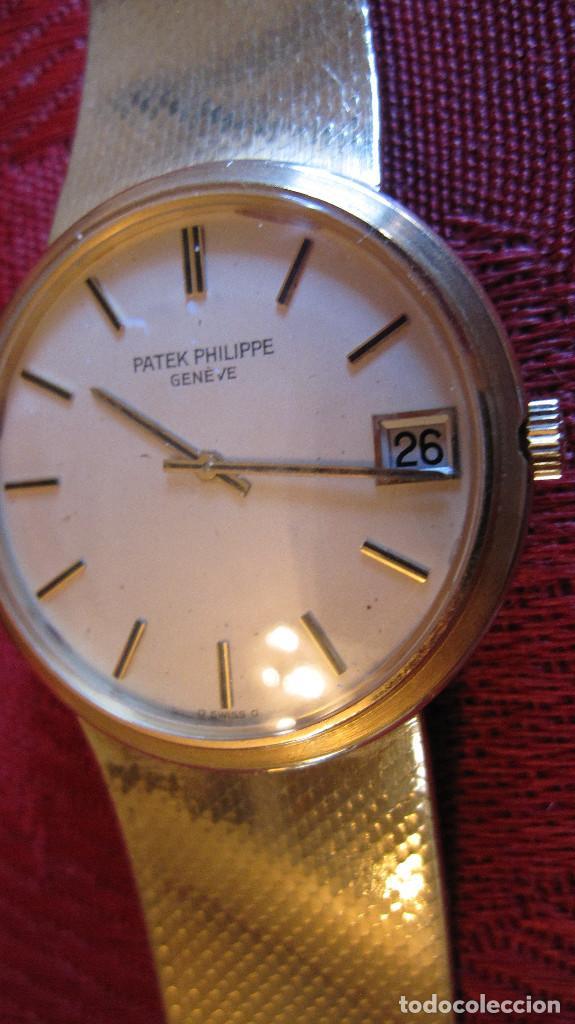 Relojes - Patek: PATEK PHILIPPE AUTOMATICO DE CABALLERO TODO 18K. ESTUCHE. FUNCIONANDO - Foto 17 - 226769555