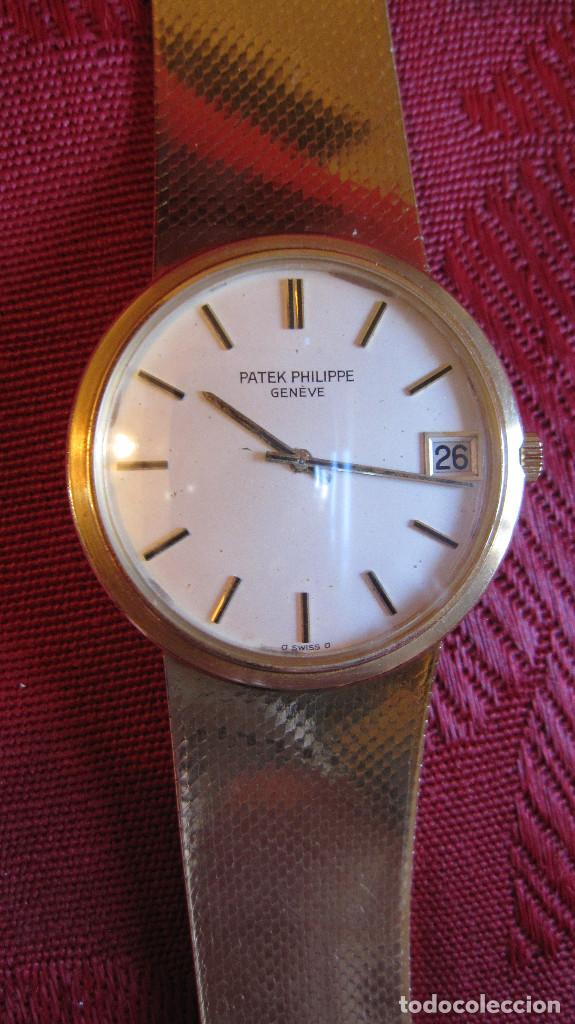 Relojes - Patek: PATEK PHILIPPE AUTOMATICO DE CABALLERO TODO 18K. ESTUCHE. FUNCIONANDO - Foto 18 - 226769555