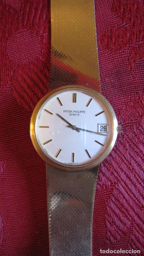 Relojes - Patek: PATEK PHILIPPE AUTOMATICO DE CABALLERO TODO 18K. ESTUCHE. FUNCIONANDO - Foto 19 - 226769555