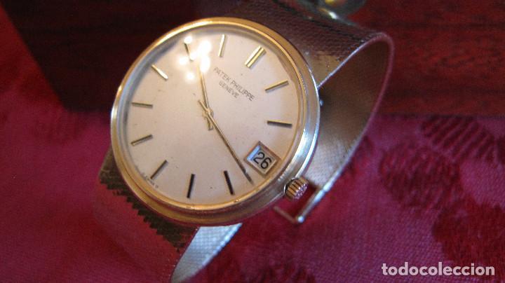 Relojes - Patek: PATEK PHILIPPE AUTOMATICO DE CABALLERO TODO 18K. ESTUCHE. FUNCIONANDO - Foto 20 - 226769555