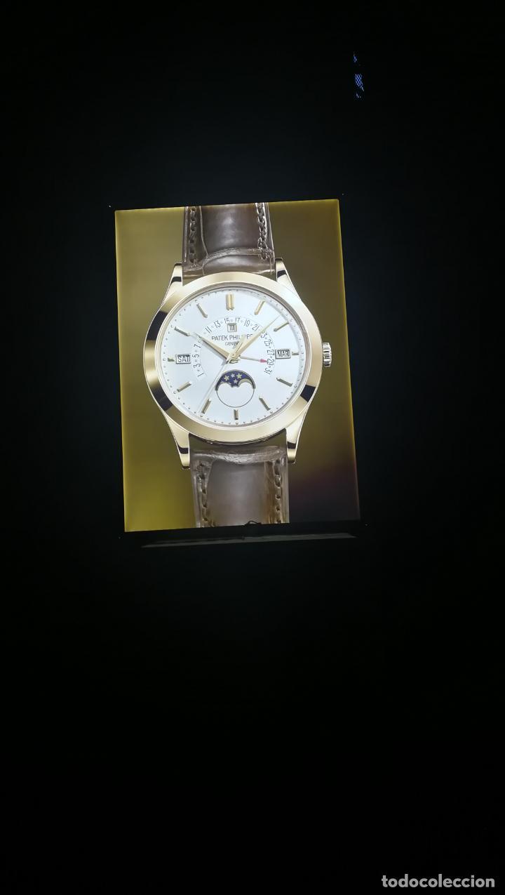 Relojes - Patek: CUADRO, CARTEL grande LUMINOSO DE PUBLICIDAD RELOJ PATEK PHILIPPE, DE EXPOSICION INTERIOR y ....... - Foto 3 - 231179490