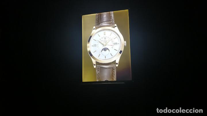 Relojes - Patek: CUADRO, CARTEL grande LUMINOSO DE PUBLICIDAD RELOJ PATEK PHILIPPE, DE EXPOSICION INTERIOR y ....... - Foto 5 - 231179490