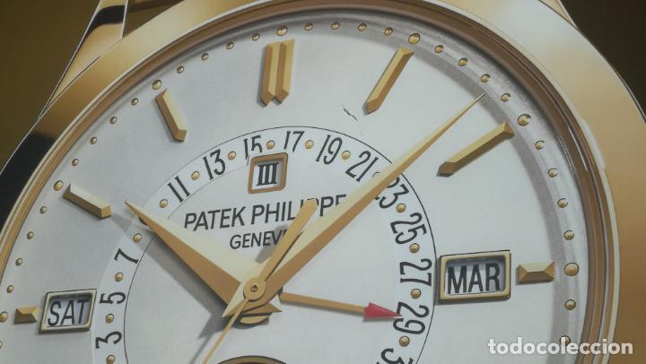 Relojes - Patek: CUADRO, CARTEL grande LUMINOSO DE PUBLICIDAD RELOJ PATEK PHILIPPE, DE EXPOSICION INTERIOR y ....... - Foto 11 - 231179490