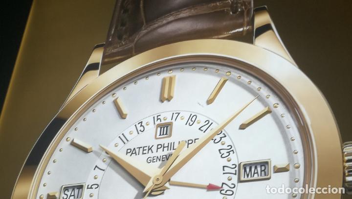 Relojes - Patek: CUADRO, CARTEL grande LUMINOSO DE PUBLICIDAD RELOJ PATEK PHILIPPE, DE EXPOSICION INTERIOR y ....... - Foto 12 - 231179490