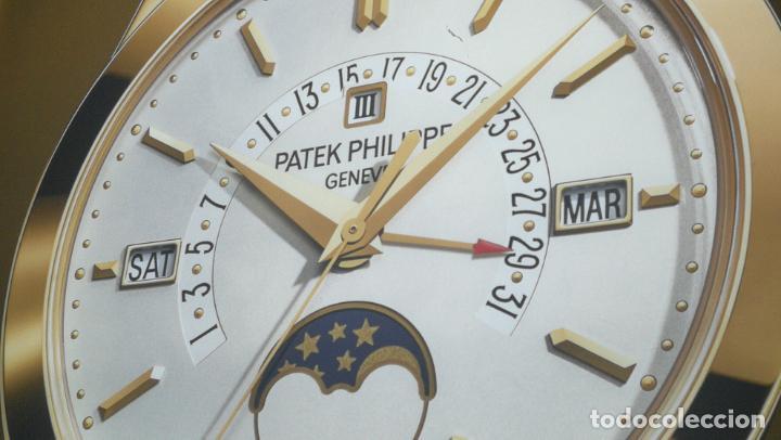 Relojes - Patek: CUADRO, CARTEL grande LUMINOSO DE PUBLICIDAD RELOJ PATEK PHILIPPE, DE EXPOSICION INTERIOR y ....... - Foto 13 - 231179490